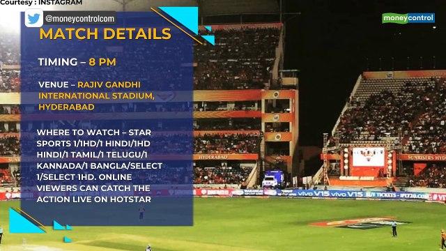 IPL 2019  SRH vs CSK match 33 Preview: Team News, Where to watch, betting odds