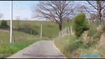 Rallye Lyon-Charbonnières : caméra embarquée à bord de la Porsche d'Yves Pezzutti