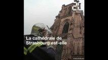 Incendie à Notre-Dame: la cathédrale de Strasbourg est-elle bien protégée du feu?