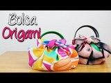 Bolsa Origami - ¿Cómo hacer? Bolsa de tela fácil y sin coser - DIY - Catwalk