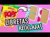 Libretas Caseras de Cartón | Convierte Cajas de Cereal en Libretas | Manualidades - Catwalk