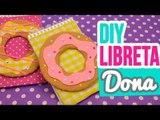 ¡Decora tus Libretas con Donas/Donut! | ✄ Ideas para decorar Cuadernos | Regreso a Clases |Catwalk ♥