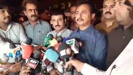 Aleem Adil Sheikh media talk