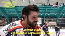 Hockey sur glace 2019-04-13 Interview Antoine Vigier - Capitaine des Sangliers Arvernes