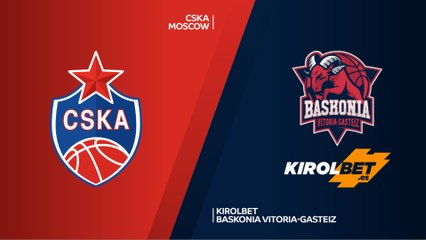 EuroLeague 2018-19 Highlights Playoffs Game 1 video: CSKA 94-68 Baskonia