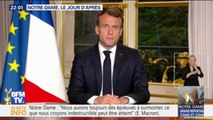 GRAND ANGLE - Notre-Dame de Paris: au lendemain de l'incendie, la nouvelle promesse d'Emmanuel Macron
