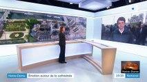Incendie de Notre-Dame de Paris : les Parisiens au chevet de la cathédrale
