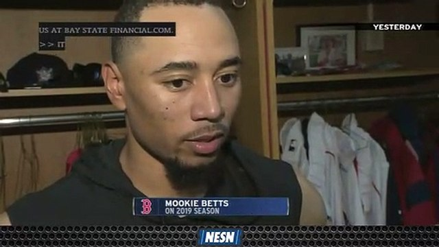 Mookie Betts Takes Ownership For His Role In Red Sox's Recent Struggles