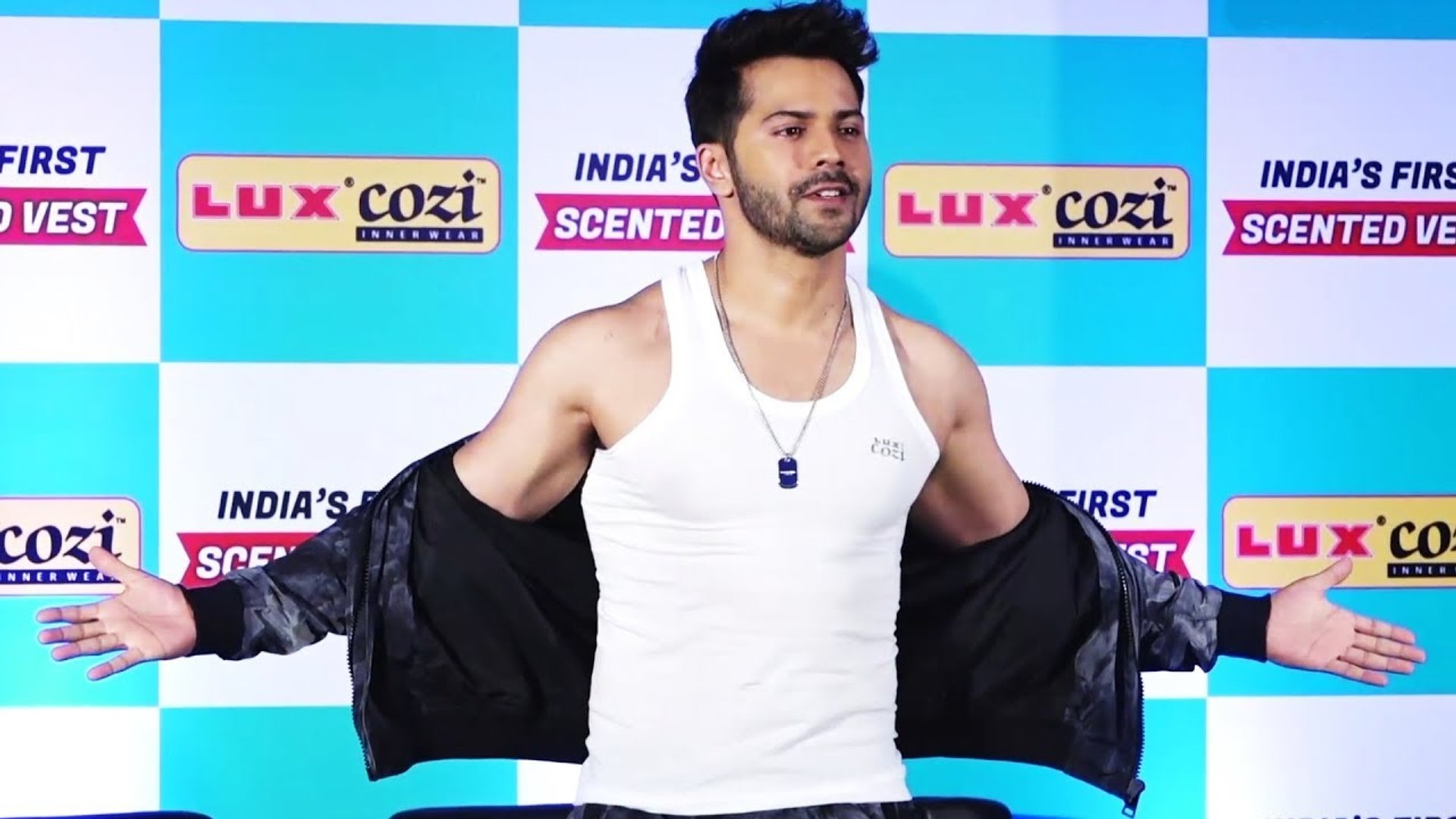 Varun Dhawan Launches India's First SCENTED Vest - Unveiling Of Lux New Innovative Product