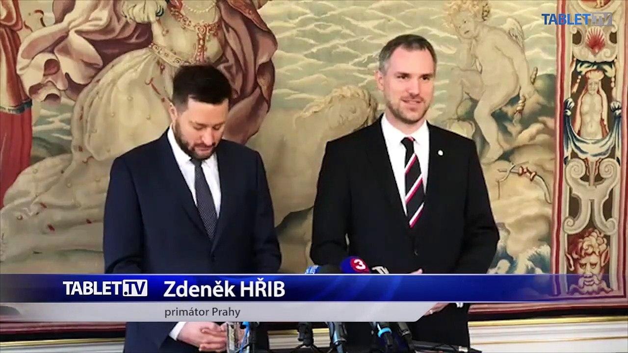 ZÁZNAM: Tlačová konferencia primátorov Bratislavy a Prahy