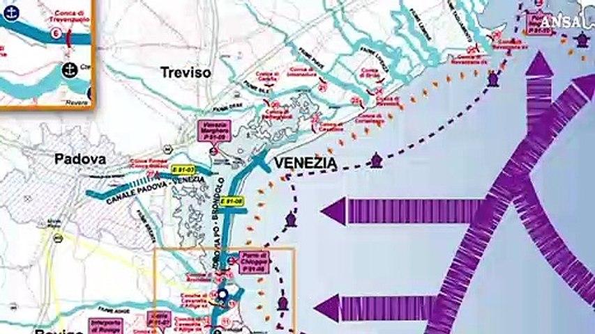 Da Mantova a Venezia, l'idrovia che fa bene all'ambiente