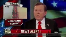 Lou Dobbs: Notre Dame Cathedral Fire Could Be Linked To Catholic Church Attacks