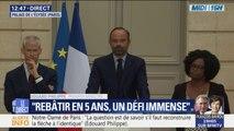 """Notre-Dame : Edouard Philippe annonce un """"concours international d'architecture"""""""