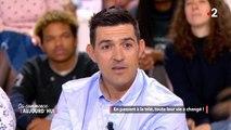 Jean-Pascal Lacoste annonce qu'il va se marier et avoir un troisième enfant