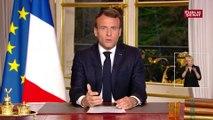 Emmanuel Macron : « Nous rebâtirons la cathédrale Notre-Dame plus belle encore. Et je veux que cela soit achevé d'ici 5 années. Nous le pouvons. Et là aussi, nous mobiliserons. »