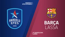 Anadolu Efes Istanbul - FC Barcelona Lassa Highlights | Turkish Airlines EuroLeague PO Game 2