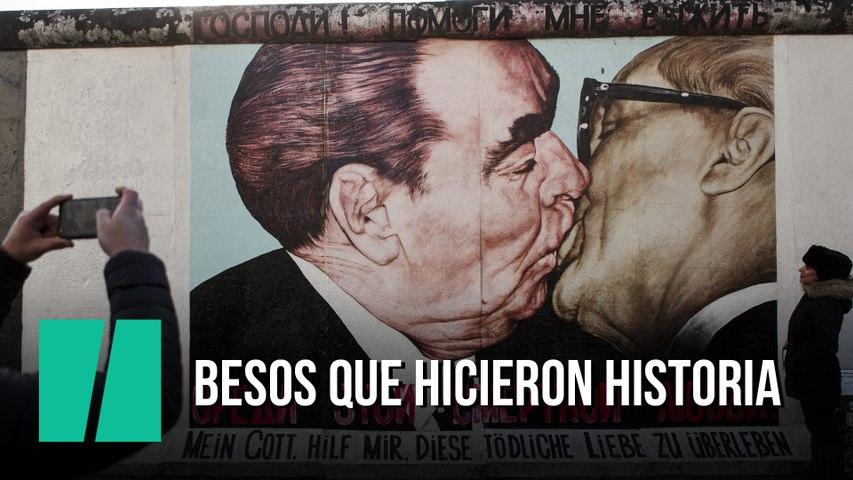 Besos con historia que hicieron historia