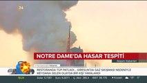 Notre Dame'da hasar tespiti