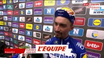 Alaphilippe «Content d'avoir terminé devant» - Cyclisme - Flèche Brabançonne