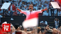 Indonesia's Joko Widodo on course for victory