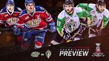 Eastern Conference Championship Series Preview – Edmonton Oil Kings vs Prince Albert Raiders