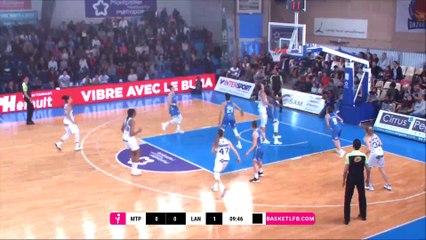 LFB 18/19 - PO 1/4a : Lattes Montpellier - Basket Landes