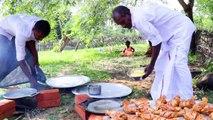 CHICKEN LEGS _ Grandpa cooking chicken legs fry _chicken legs village food recipes villagecooking...