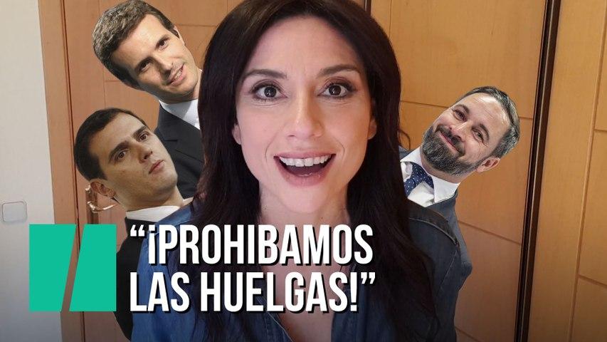 """""""¡Prohibamos las huelgas!"""", por Marta Flich"""