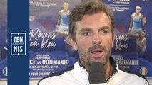 Fed Cup France-Roumanie : Julien Benneteau détaille la préparation