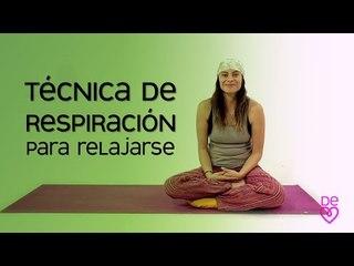 Respiración para relajarse | Maryan Rojas