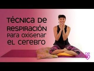 Técnica básica de respiración para oxigenar el cerebro | Maryan Rojas