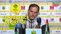 Conférence de presse FC Nantes - Paris Saint-Germain (3-2) : Vahid HALILHODZIC (FCN) - Thomas TUCHEL (PARIS) - 2018/2019
