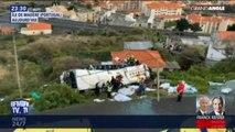 Portugal: au moins 28 morts dans l'accident d'un bus touristique à Madère