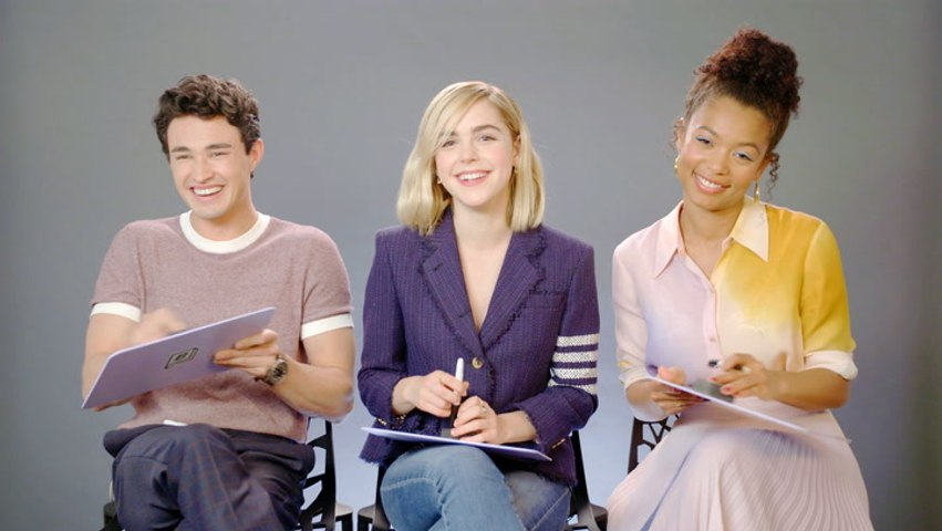 The 'Chilling Adventures Of Sabrina' Cast Members Find Out How Well They REALLY Know Each Other