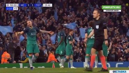 Sterling R. DISSALOWED Goal HD - Manchester City4-3Tottenham 17.04.2019