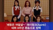 '에핑은 여덟살~' 에이핑크(Apink) 8주년 팬송 'Everybody Ready?' 티저 공개