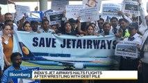 India's Jet Airways Halts All Flights