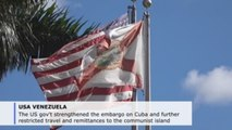 US government strengthens sanctions on Cuba