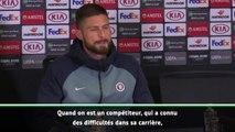 """Quarts - Giroud : """"Je ne suis pas heureux de jouer les seconds rôles"""""""