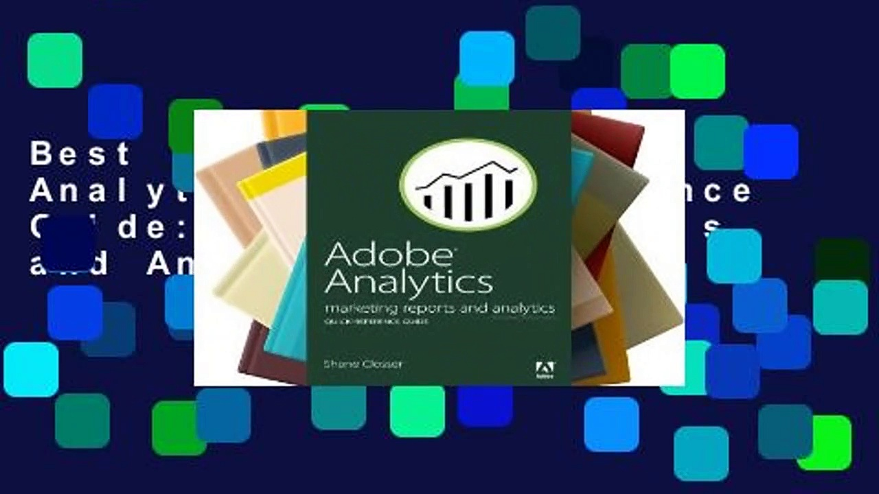 Best product  Adobe Analytics Quick-Reference Guide: Marketing Reports and Analytics – Adobe