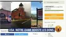Les dons pour Notre-Dame boostent une cagnotte pour des églises américaines
