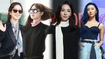 [Showbiz Korea] Celebrities Fashion with SCARVES! (Jung Ryeo-won, Kong Hyo-jin, Sandara Park, Hwasa)