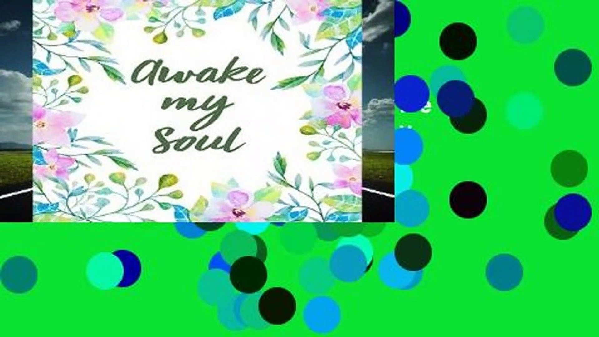 [BEST SELLING]  Awake My Soul: Bible Study Journal / Notebook by Spiritual Fruit Journals