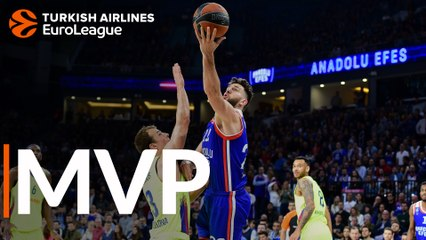 Playoffs Game 1 MVP: Vasilije Micic of Anadolu Efes Istanbul