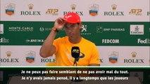 """Monte-Carlo - Nadal : """"Je ne peux pas faire semblant de ne pas avoir mal"""""""