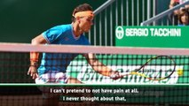 Playing through pain is part of the sport - Nadal