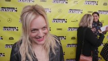 Elisabeth Moss performed as 'Handmaid's Tale' character for Ashley Benson's friend