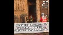 Incendie de Notre-Dame de Paris: «On pensait vraiment pouvoir sauver la flèche» témoigne un sapeur-pompier