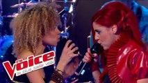 Zazie – Je suis un homme | Céline Caddéo VS Nungan | The Voice France 2013 | Battle