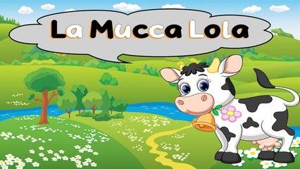 SA - LA MUCCA LOLA #Canzonibambini e Musica per bambini